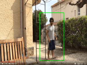 real time person detection with colin
