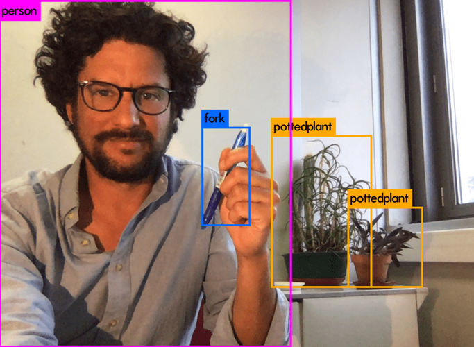 colin, object detection with yolov3