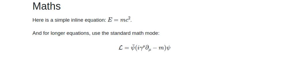 mathjax equation