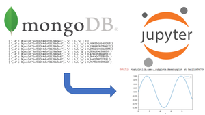 connecting to mongoDB from a jupyter notebook